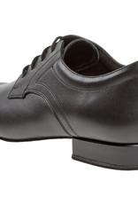 """Diamant 085-026-028-Chaussures de Danse Homme 1 """" Extra Large  Semelle de Suède- CUIR NOIR"""