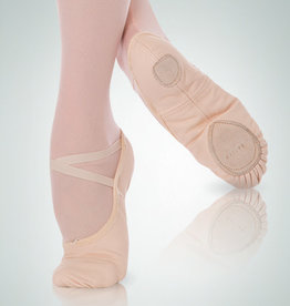 BodyWrappers 246C-Child Total Stretch Canevas Ballet Slippers