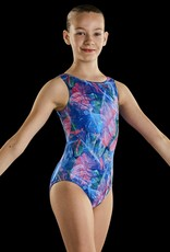 Leo DanceWear GB172C-Child Gym Tank Leotard-WILD ON