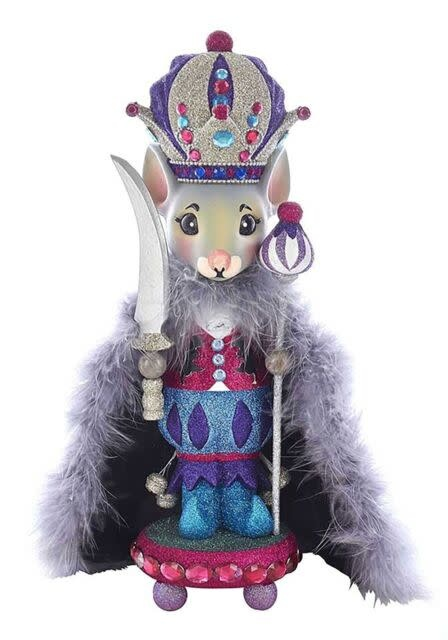 KURT S. ADLER HA0330-Hollywood Mouse King Nutcracker