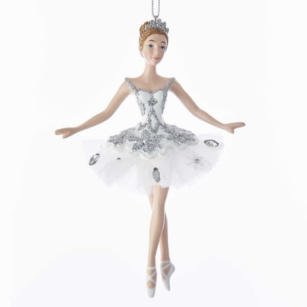 KURT S. ADLER C7653 Snow Queen Ballerina Ornement