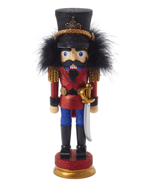 KURT S. ADLER HA0028P-Wood Nutcracker Prince