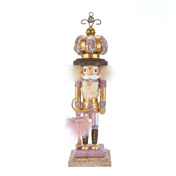 KURT S. ADLER HA0474-Hollywood Ballet Crown Nutcracker