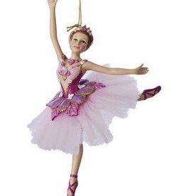 KURT S. ADLER C8575-Shuger Plum Ballerina Ornement