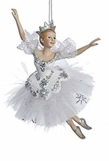 KURT S. ADLER C8574-Snow Queen ballerina Ornement