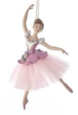 KURT S. ADLER C7655-Waltz Of Flower Ballerina Ornement