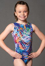 MotionWear 1410-499-Gyn Tank Leotard-LIGHT STREAK