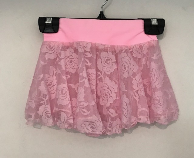 Butterfly Treasures BAS-303-Child Lace Skirt