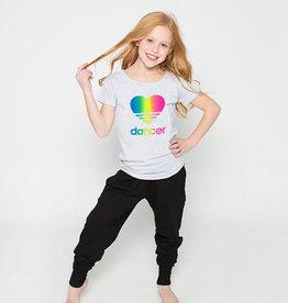 Sugar & Bruno D9482-Heart Dancer Rainbow Upscale Tee-6-8