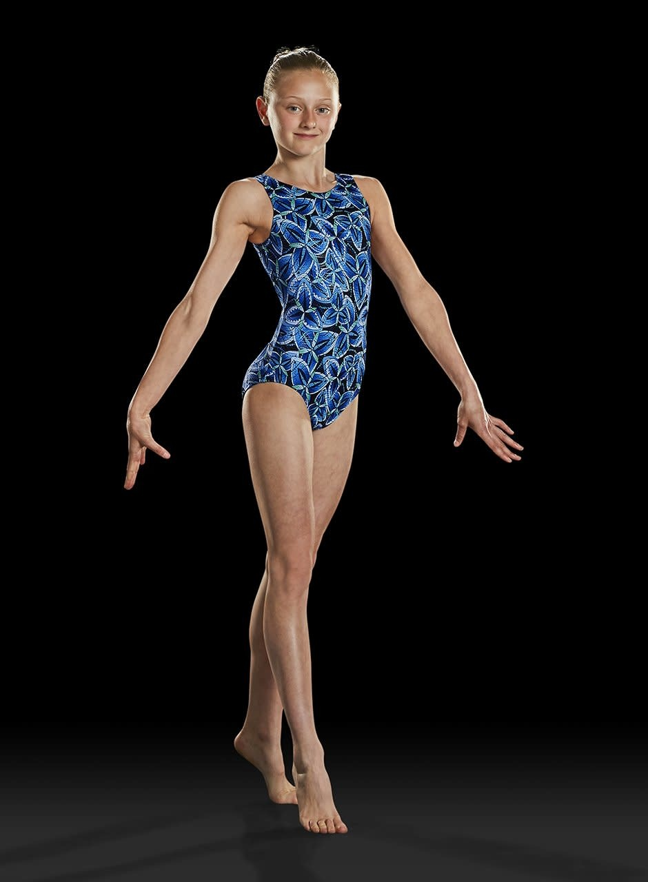 Leo DanceWear GB159C-Girls Gym Tank Leotard-WINDMILL