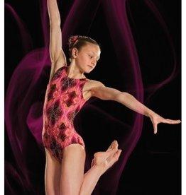 Leo DanceWear GB156C-Girls Gym Tank Leotard-VOLCANO