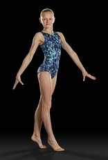 Leo DanceWear GB157C-Girls Tank Gym Leotard-INK SPOT