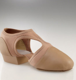 Capezio PP323C-PEDINI-Child Combination of Neoflex And Leather-CARAMEL