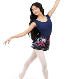 Capezio 11713W-Botanical Wrap Skirt-ML