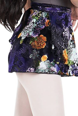 Capezio 11713W-Botanical Wrap Skirt-ML