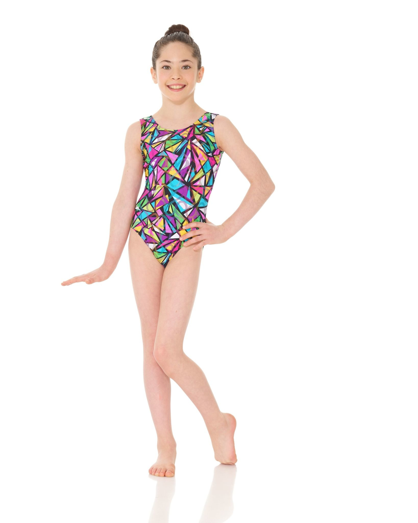 Mondor 27822-S5-Gym Tank Leotard-SNAKES & LADDERS
