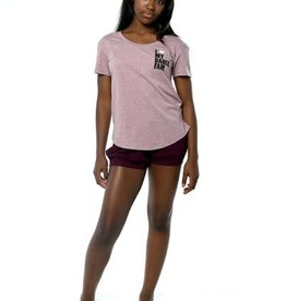 Sugar & Bruno D9541-Love My Dance Fam Red Epic Tee-YOUTH ONE SIZE
