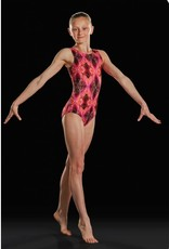 Leo DanceWear GB156C-Girls Gym Tank Leotard-VOLCANO