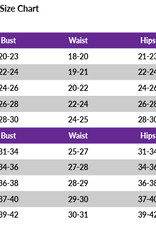 MotionWear 1389-978-Racerback Gym Leo-CHARCOAL-PA
