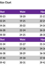MotionWear 1413-339-3/4 Sleeve Gym Leotard-CHAOS