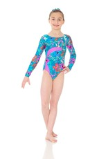 Mondor 7883-SG-Long Sleeve Gyn Leotard-SECRET GARDEN