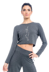 SoDanca RDE-1989-Long Sleeve Crop top