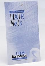 Capezio BH421-Hair Nets-LT-BRN