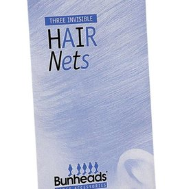Capezio BH423-Hair Nets-DARK BRN