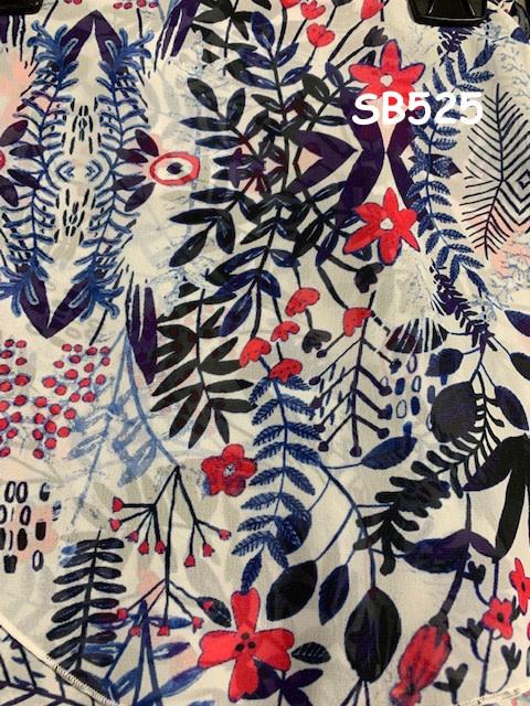 SoDanca RDE-1726-Adukt Wrap skirt