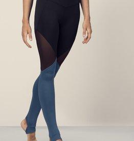 Bloch FP5196-Full Lenght Color Panelled Leggings-SEAPORT-MEDIUM
