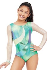 Capezio 11608C-Long Sleeve Gym Leotard-PMM