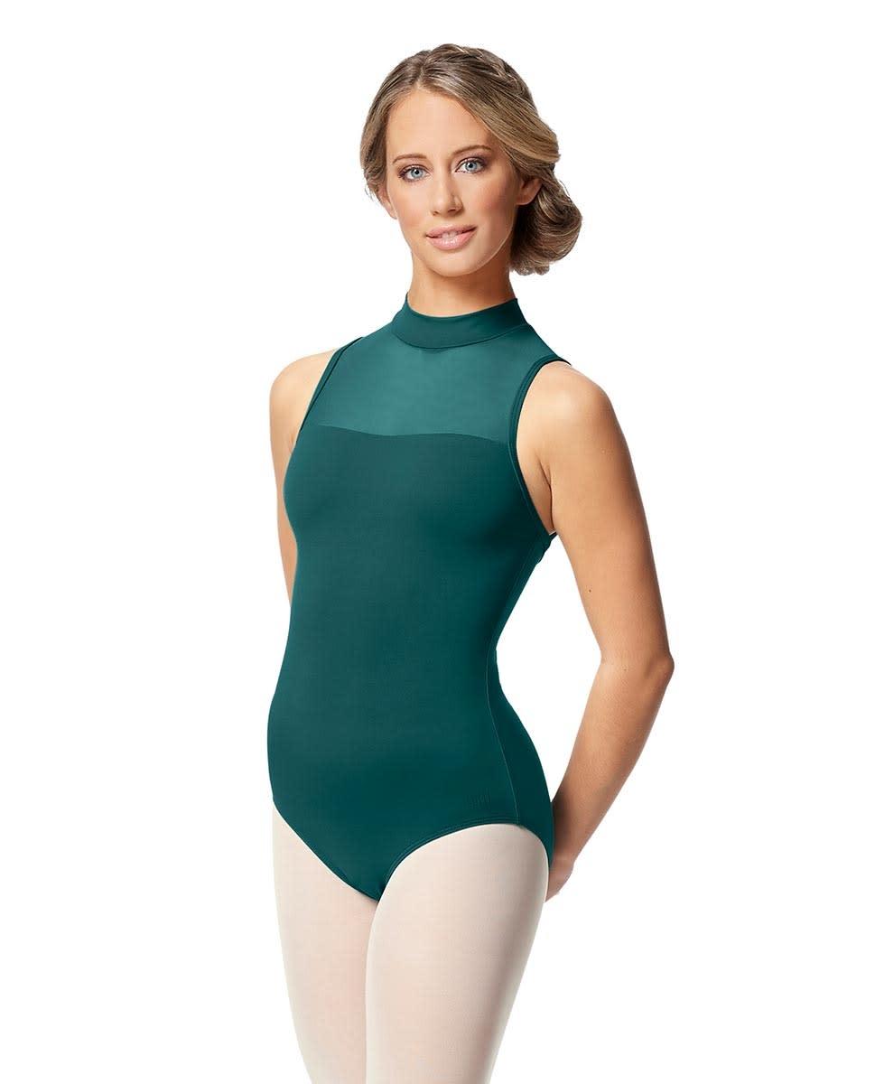 Lulli Dancewear LUB346-Klara Womens Turtle Neck Tactel Leotard