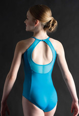 MotionWear 2555-845-Keyhole Back Princess Seam Cami Leotard