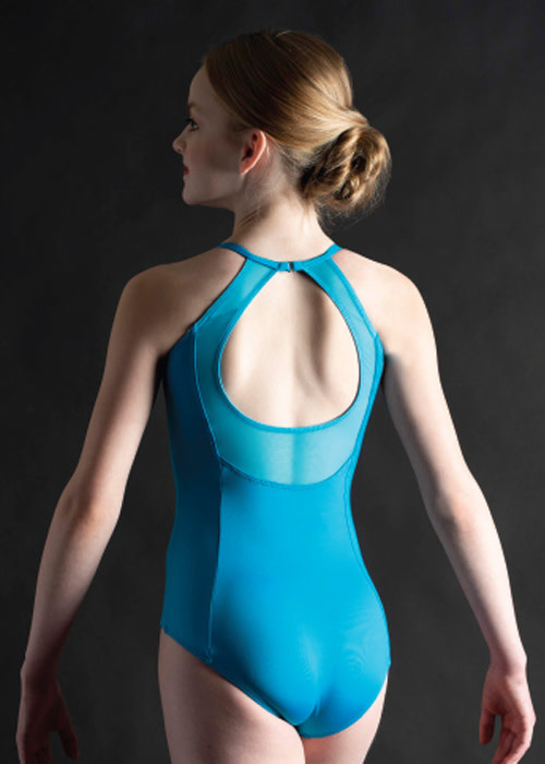 MotionWear 2555-845-Camisole Leotard Couture Princesse dos Ouvert