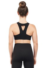 Capezio 11650W-High Neck Bra Top-STORMY