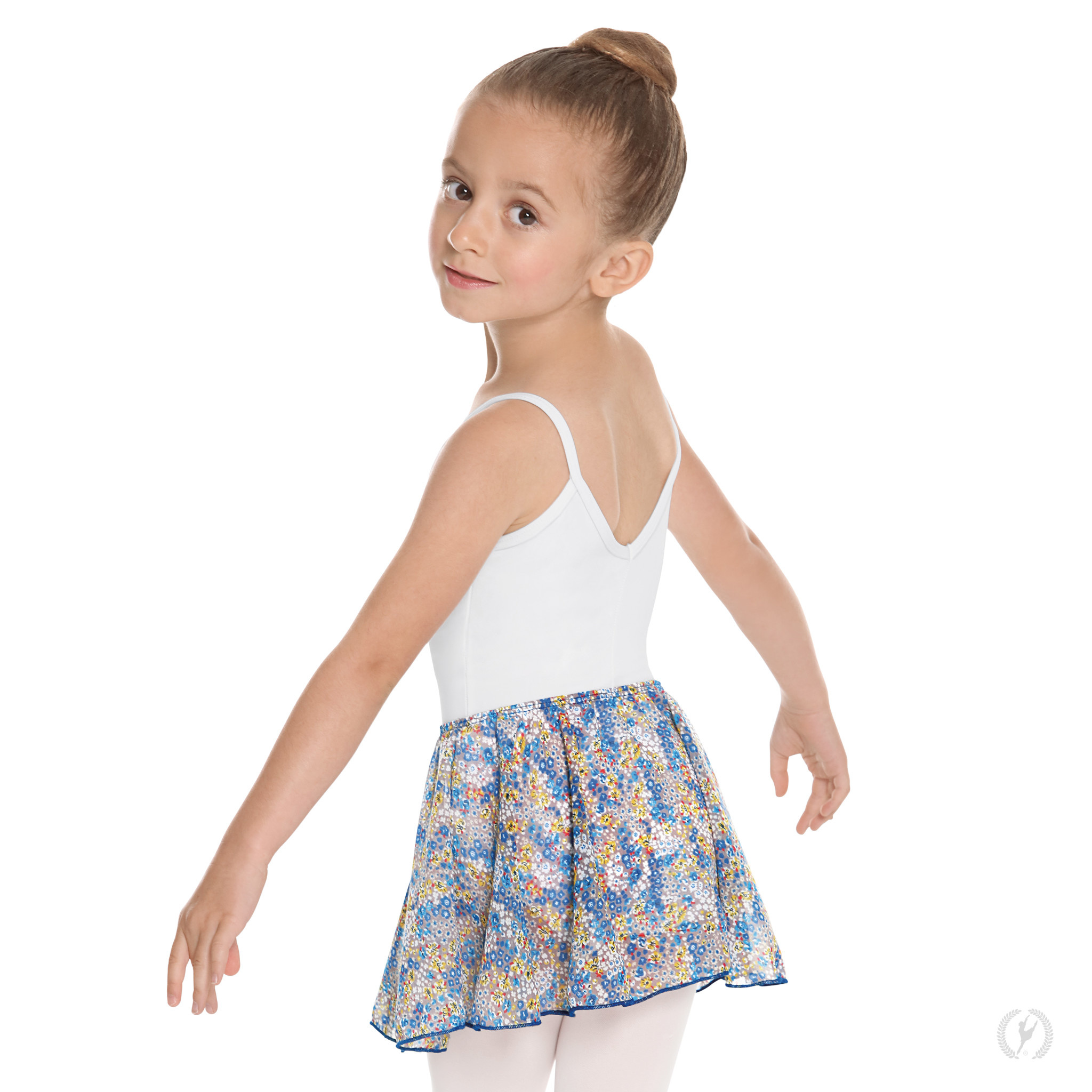 Eurotard 04283-Child Pull On Skirt-BLUEBERRY