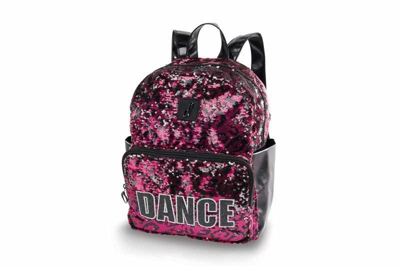 Danshuz B20501-Hyped Cheetah Backpack-PINK
