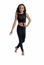 Danshuz 19304C-Camisole de Danse Sans Manches Pour Enfant