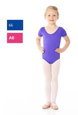 Mondor 40096-Short Sleeve Leotard Child