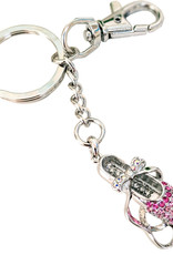 American Dance Supply 136-Pointe Shoe Keychain-PINK