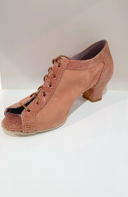 "Merlet PARMA1-1475-131-Ballroom Shoes 1.7"" Suede Sole Velvet Leather-VIPERA"