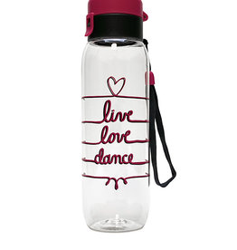 Sugar & Bruno D9885-Live Love Dance Water Bottle