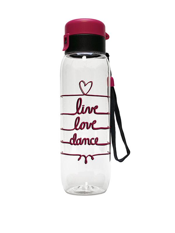 Sugar & Bruno D9885-Live Love Dance Water Bottle