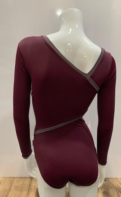 Dancewear Royale ATHENA-Custom Leotard Striking  Asymmetrical design