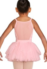 Bloch CR5521-Diamante Rouched Trim Tutu-PINK