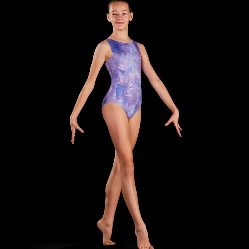 Leo DanceWear GB190C-Girl Gym Tank Leotard-HARMONY