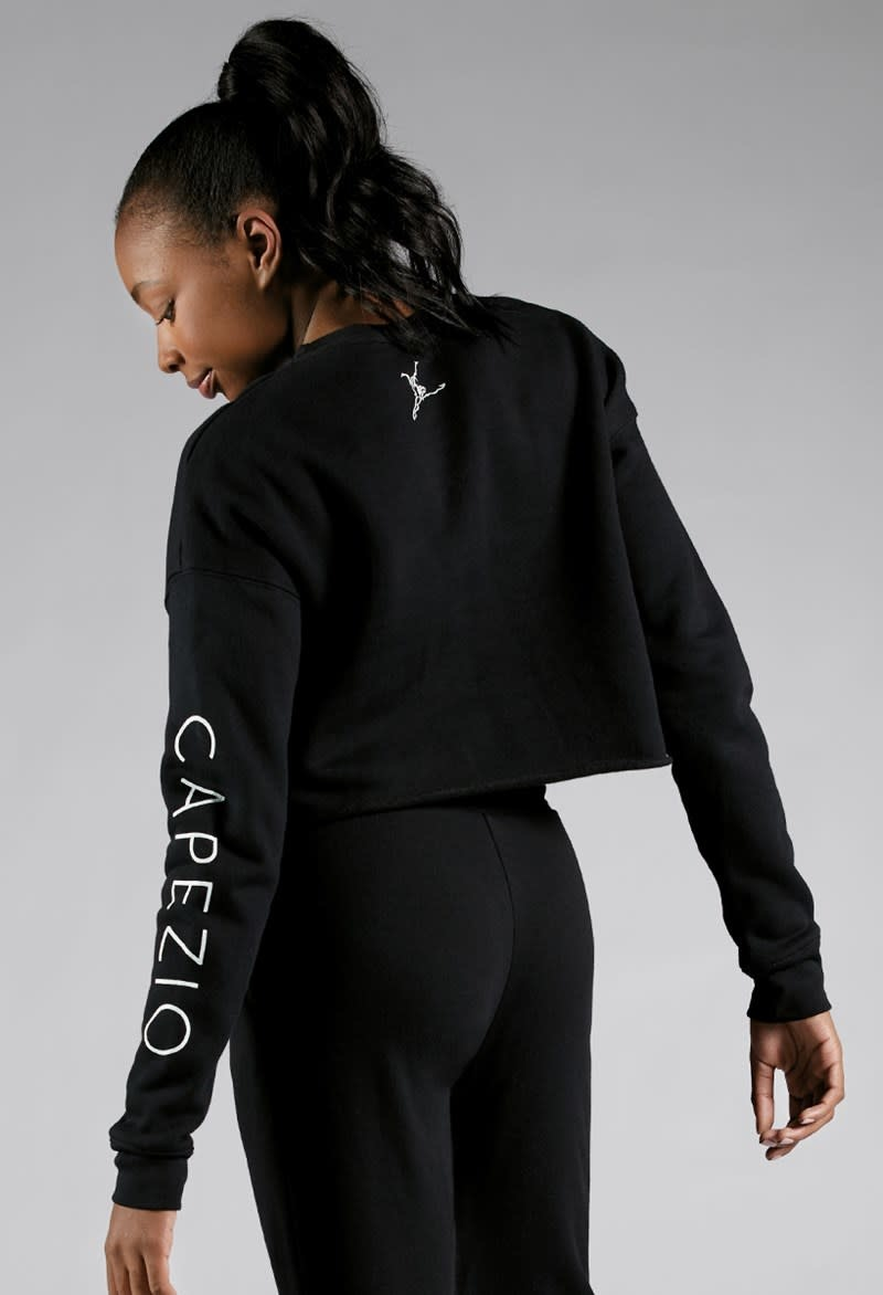 Capezio 11560W-Capezio Crop Sweatshirt Adult