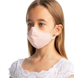 SoDanca L2171-Masque Facial Enfant Avec Courroies d'oreille - TAILLE UNIQUE ROSE