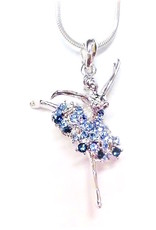 American Dance Supply 512-Ballerina Necklace-BLUE