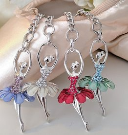 American Dance Supply 101S-Ballerina key chain